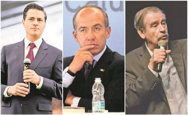 Peña Nieto,Calderón y Fox, los lores de Palacio Nacional #Opinión de Arlequínhttp://eluni.mx/s3a3freqq_