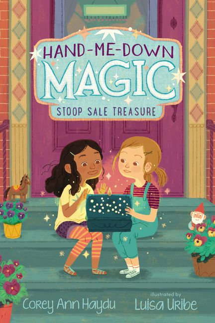 Looking for a story with a little bit of magic? Well, look no further! Enter our @goodreads #giveaway for a chance to win an advanced copy of HAND-ME-DOWN MAGIC #1: STOOP SALE TREASURE, the first installment in a new series by @CoreyAnnHaydu! ow.ly/jTfj50wf7g0
