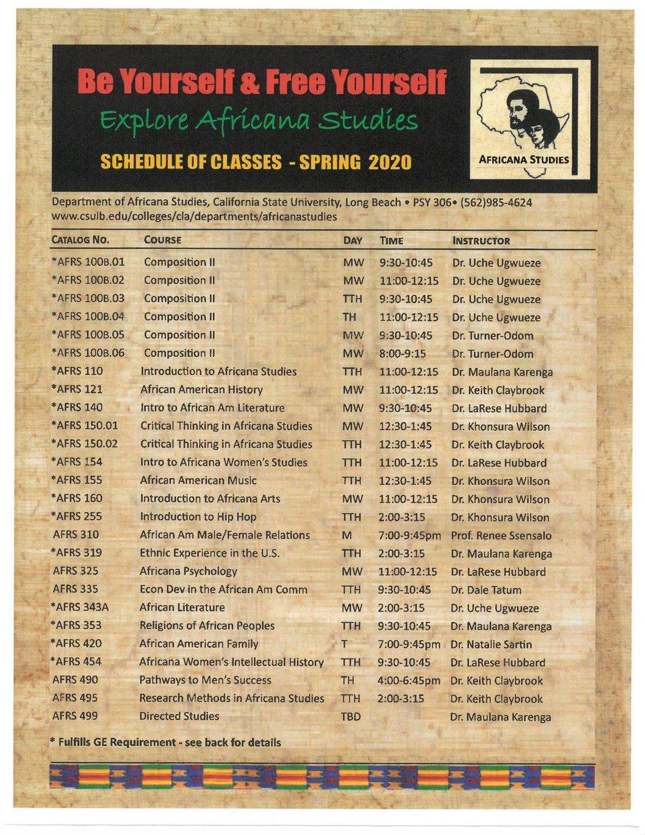 Csulb Schedule Of Classes Spring 2020.Csulb Dream Center Dreamsuccessctr Twitter