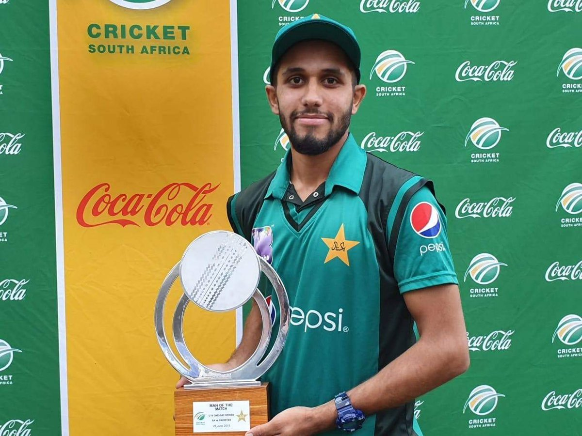 The Talent Spotter: Under 19s Peshawar-born Mohammad Haris who bats, bowls and can keep wicket and whose role-model is Jos Buttler http://www.pakpassion.net/literature/talent-spotter/7103-talent-spotter-mohammad-haris.html… #Cricket