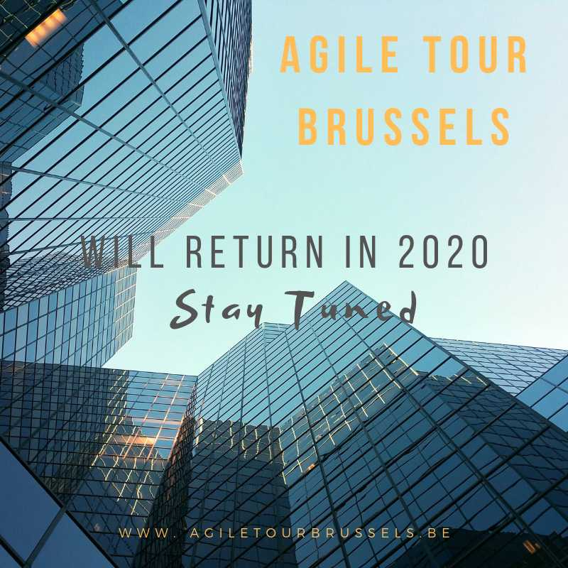 #AgileTourBrussels will come back in 2020. Follow us on #Twitter #Facebook #instagram and visit http://www.agiletourbrussels.be Stay Tuned #agile #tour #Brussels