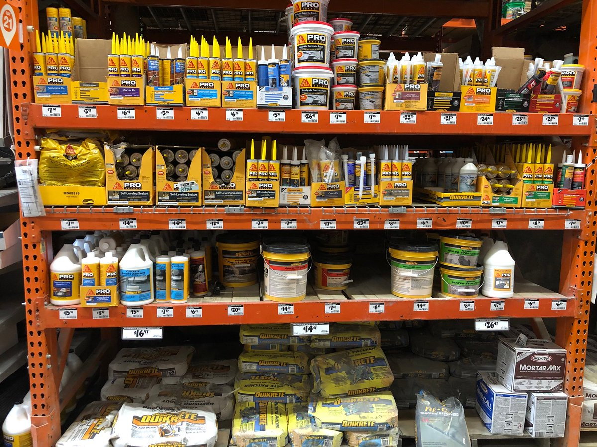 Come to Home Depot Store 2679 Dorchester, MA SOUTH BAY. It's the last few days of Pro Appreciation Week and Sika Products are fully Stocked for Contractors and DIY Repair Needs. Products are going fast so come on down today, Saturday and Sunday for the Best deals. <br>http://pic.twitter.com/7PwWocIRxn