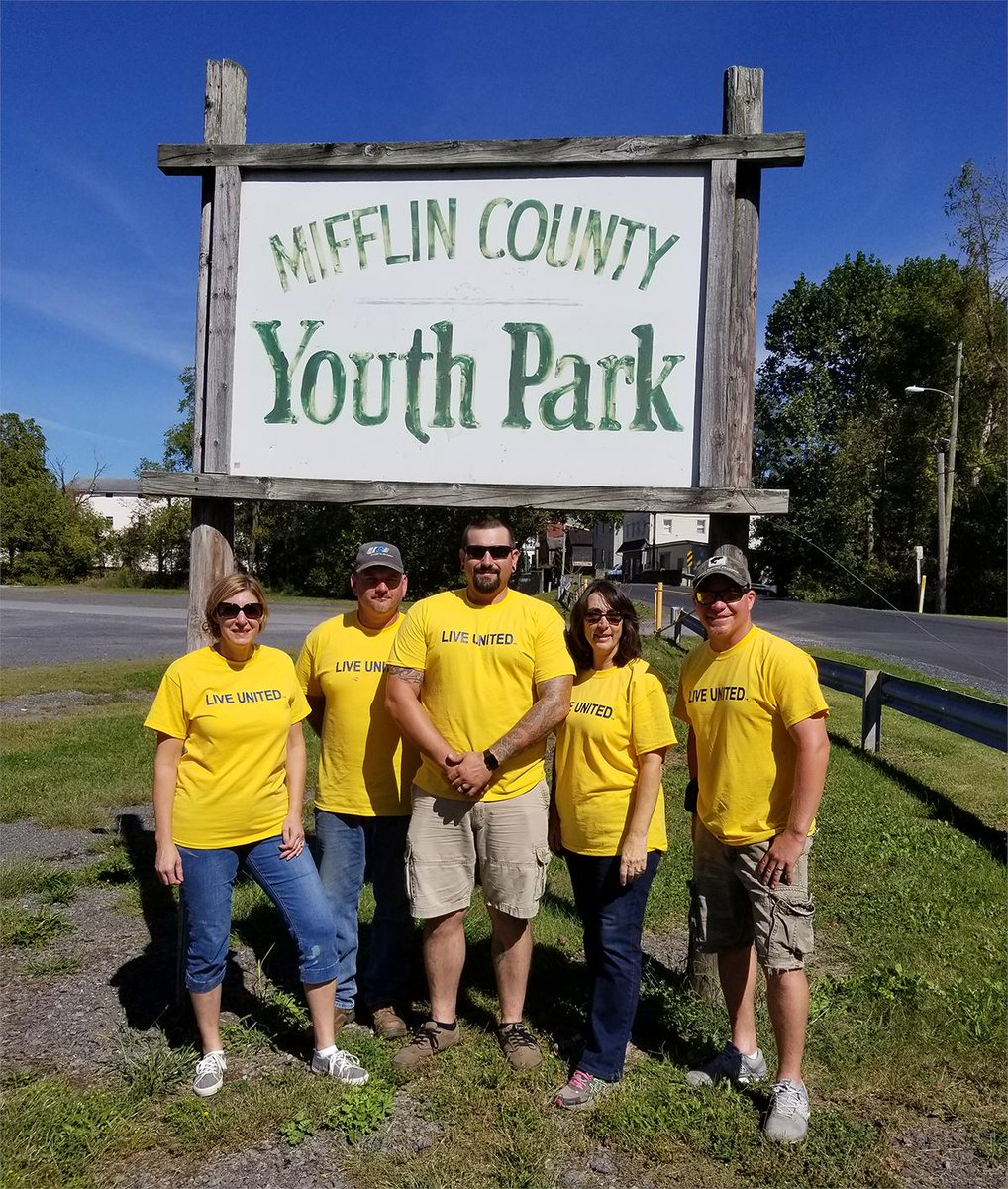 test Twitter Media - It's a beautiful day for a walk in the park! 🌞🌳🌻 And if you're out in Reedsville, be sure to check out the new seating at Mifflin County Youth Park that was installed by UGI volunteers during United Way of Mifflin-Juniata's annual Day of Caring! #LiveUnited #EnergyToDoMore https://t.co/VIkT2IeWPU