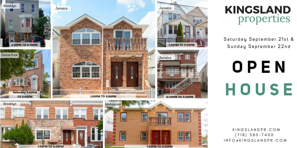 Open Houses this weekend! We look forward to meeting you there! #OpenHouse #nyc #ny #weekend #SaturdayThoughts #SundayFunday #home #houses #RealEstate #FridayMotivation #FridayThoughts #FridayFeeling #FridaysForFuture