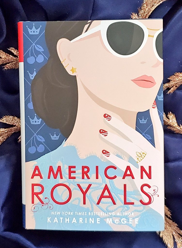 I have FINALLY started reading American Royals by @katharinemcgee and I am so excited about it. -K #FridayReads #amreading<br>http://pic.twitter.com/q459nQ3Akh