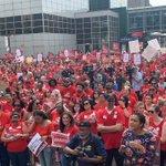 """Image for the Tweet beginning: """"We hope this strike sends"""