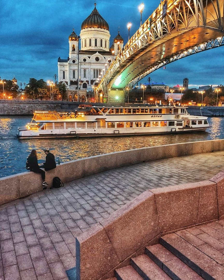 Яркие места для фото москва