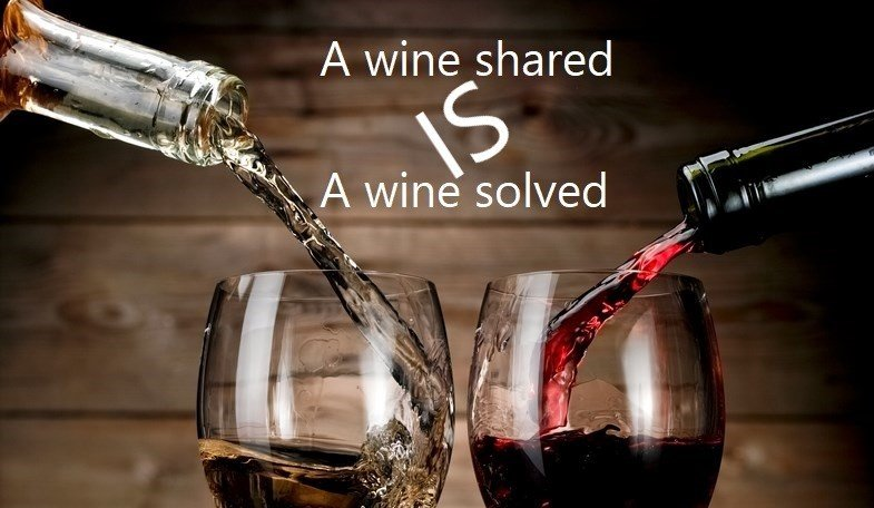 A wine shared is a wine solved! http://nofussjustwines.co.uk #nofussjustwines #quotes #wine #winelover @WorthingDir #winemerchant #supportlocal #buylocal #ServicePublic #love #PeoplesVote #summerlovin #joinus #weekend #onlineshop #FridayVibes