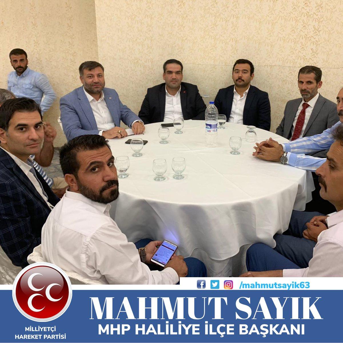 #ÜlküOcakları il başkan yardımcısı Mehmet Cenap Alpay'ın kirveliğini üstlendiği Türk Dünyası Birim başkanı Halil Uluğ' un düğün merasimine katılım sağladık.Aile saadetine kavuştukları bu mutlu günlerin bir ömür sürmesini dilerim.  #MAHMUTSAYIK #MHP #HALİLİYE İLÇE BAŞKANI #Türkiye