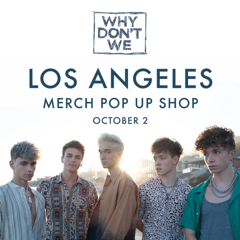 LOS ANGELES! Listen to Radio Disney all weekend to find out how you can win tickets to an EXCLUSIVE @whydontwemusic performance at their LA Merch Pop Up at a secret location! radiodisneyapp.com