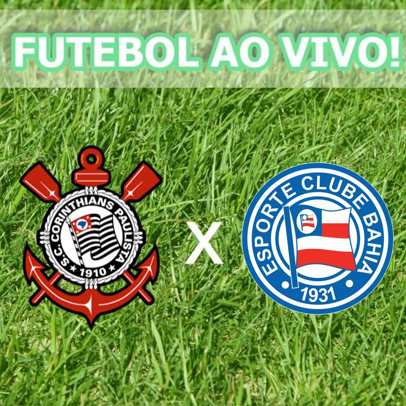 Noite de sábado = Jogão na Globo Internacional! Corinthians x Bahia!  #FutebolNaGlobo