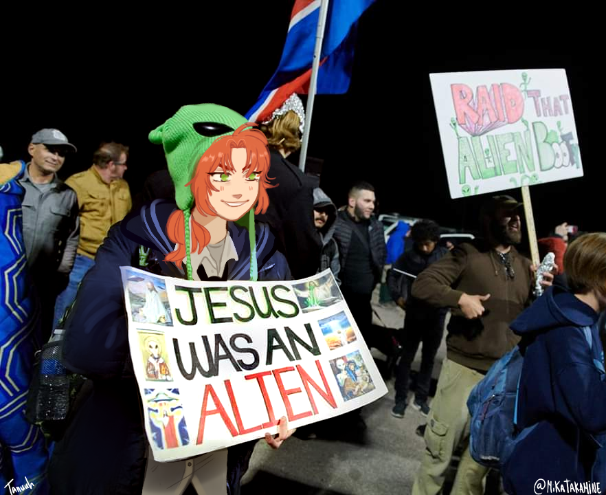 RT @Tanuhun: leo tsukinaga has been spotted at the #Area51Storm https://t.co/uGv6eJ3H0M