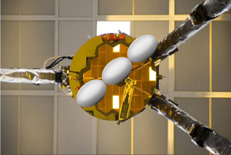 The @rugbyworldcup starts today! For those of you with your eyes on the pitch, #DKY that #NASAWebbs secondary mirror (the smaller mirror opposite the large primary mirror) is ~2.5 rugby balls across in size? The primary is 24 rugby balls across! go.nasa.gov/2ZSuWtX #RWC2019