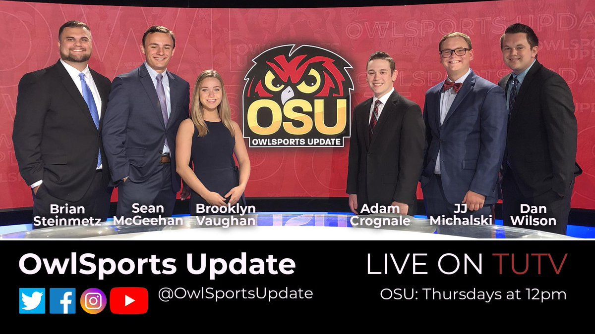 A crew only an executive producer/professor could love! @OwlSportsUpdate - circa 2019!