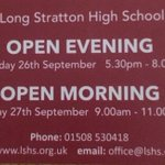 Image for the Tweet beginning: Deliveries complete: the LSHS Open