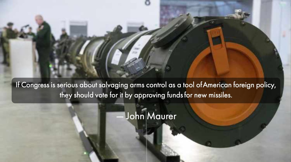 Post INF Great Power Arms Control | John Maurer of @AEI @AEIfdp at @RCDefense realcleardefense.com/articles/2019/…