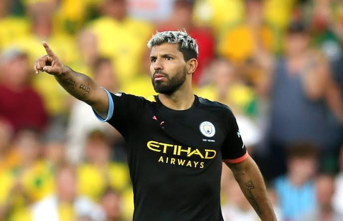 Sergio Aguero admits he admired Liverpool as a child growing up in Argentina.