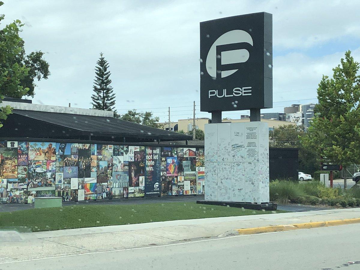 While exploring Orlando, happened to pass here today. So sad....@pulseorlando #pulse #WeRemember