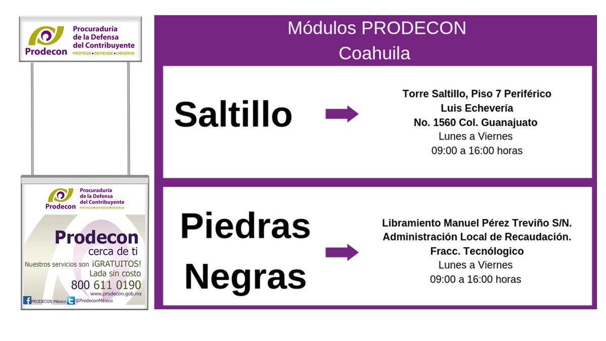 Etiqueta Móduloprodecon Al Twitter