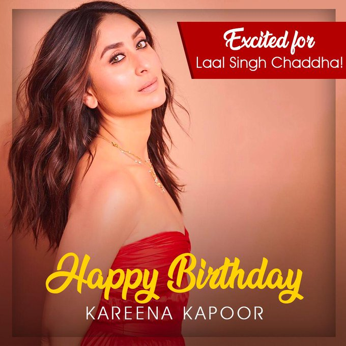 Happy Birthday Kareena Kapoor Khan... Excited to see you with Sir, again.