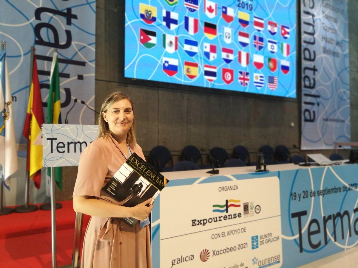 La directora de @Termatalia clausura de manera oficial #Termatalia2019 ante la prensa, representantes oficiales, y visitantes.  Pronto, su entrevista en http://www.caribbeannewsdigital.com   #termalismo #turismotermal
