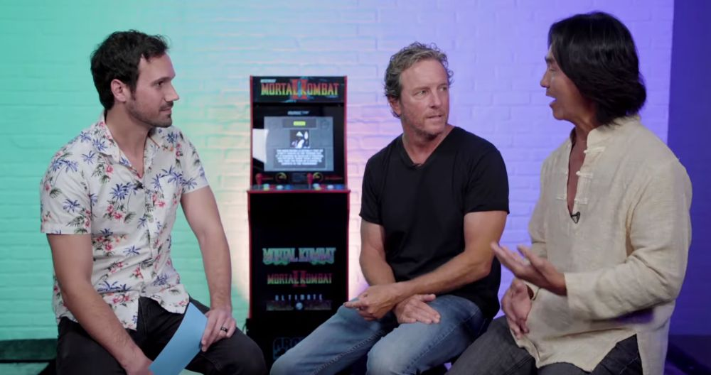 Ed Boon On Twitter Watch Johnny Cage Lindenashby Robin Shou