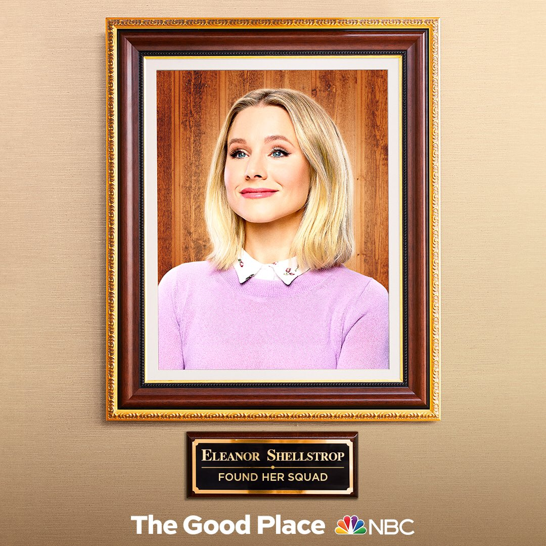 Found her squad, indeed. Tune-In to #TheGoodPlace  Thursday, September 26 at 9/8c on @NBC<br>http://pic.twitter.com/2Deavcghiz