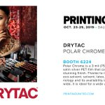 Image for the Tweet beginning: .@Drytac (Booth 6224) announced the