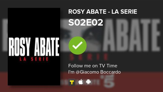 test Twitter Media - I've just watched episode S02E02 of Rosy Abate - La ...! #rosyabatelaserie  #tvtime https://t.co/6g0XS8ffL6 https://t.co/qMF92FTzF3