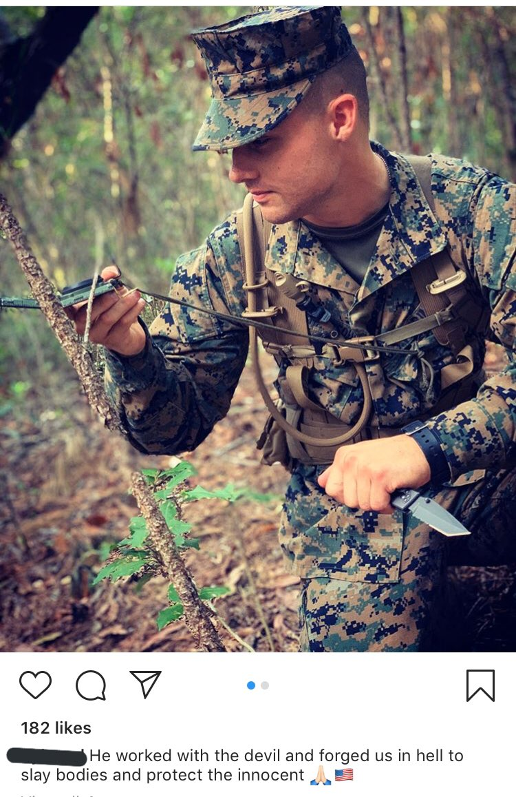 Boot of the Week  Just casually doing land nav holding a knife like a fucking idiot  #ZBTBOTW <br>http://pic.twitter.com/o9AlgpM5G4