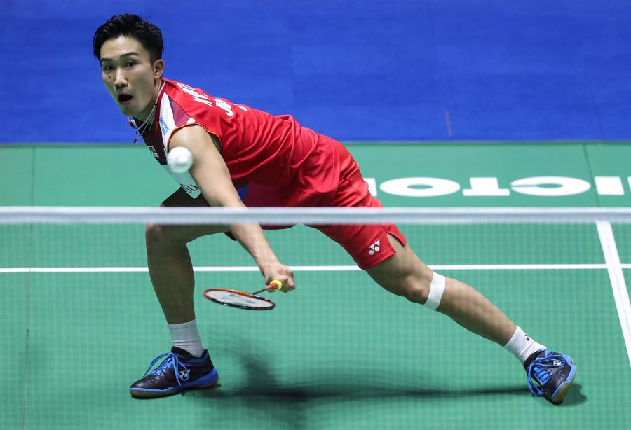 Top seed Kento Momota of Japan and Olympic champion Carolina Marin of Spain power through to the men's and women's singles semifinals at #badmintonworldchampionships2019 http://xhne.ws/08o6p