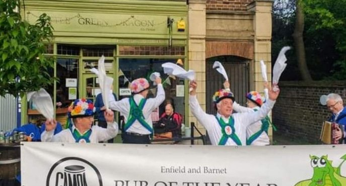 test Twitter Media - Etcetera Morris Men will be dancing at the Little Green Dragon tomorrow (Saturday 21st Sept) at 12.00 midday! #beer #morrisdancing #realale #folkdance @ETCMorris @EandBCAMRA https://t.co/ykhVaB3JK0