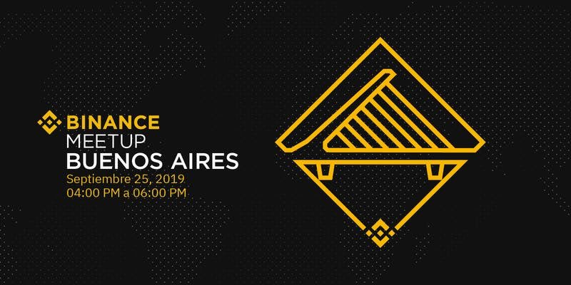 #Binance Buenos Aires Meetup  Wed, September 25, 2019 4:00 PM – 6:00 PM #Argentina Buenos Aires Time  http://T.me/BinanceSpanish    Ticket reservation https://www.eventbrite.com/e/binance-buenos-aries-meeup-tickets-72825040657?aff=Angels …  #buenosaires #buenosairesargentina #crypto #meetup #buenosaires2019 #buenosairesphoto #buenosairescitypic.twitter.com/capWTb9jTh