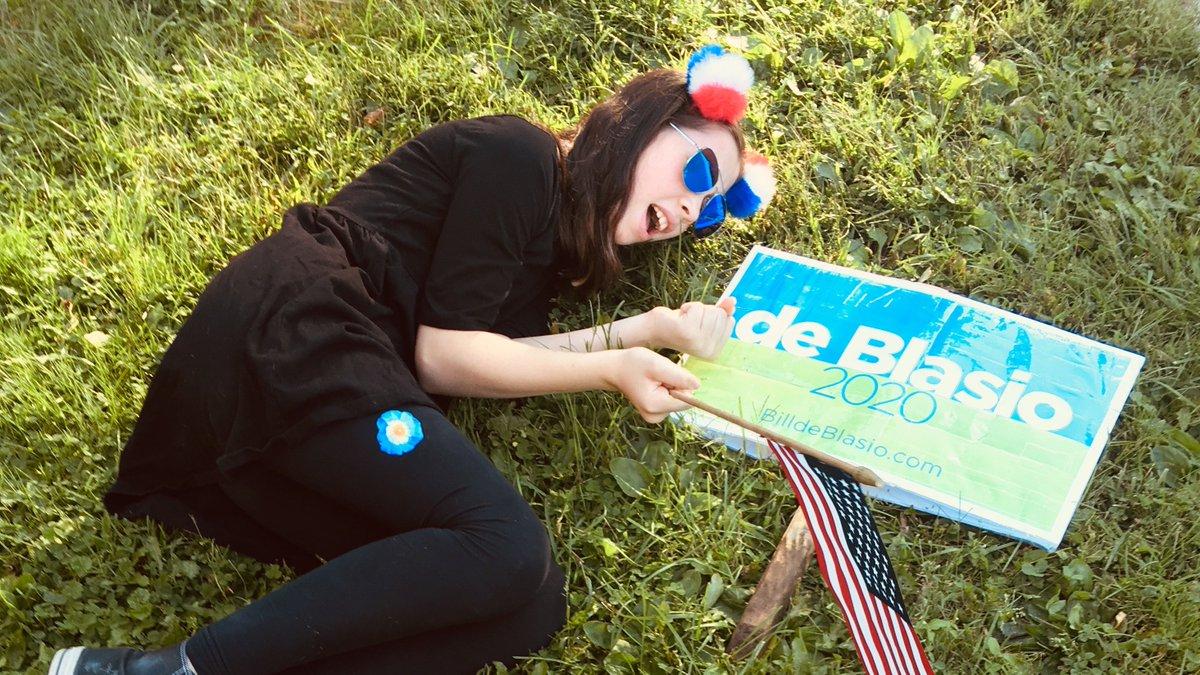Tonight, we share our sorrow at the suspension of #BilldeBlasio 's campaign. #gameofdems #DemDebate #DemocraticDebate @SvanteMyrick #twithaca #ithaca