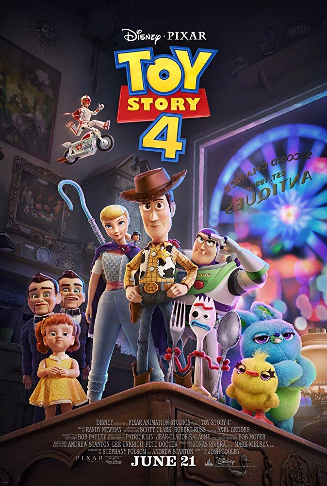 "Carl Weathers carries over to Movie 3,361 ""Toy Story 4"". 7 out of 10. A fine extension of a franchise, except for issues with a suicidal toy (Forky) and a handicapped one (Gabby). #tomhanks #timallen #anniepotts #tonyhale #keanureeves #carnival #antiqueshttps://honkysmovieyear.blogspot.com/2019/09/toy-story-4.html …"