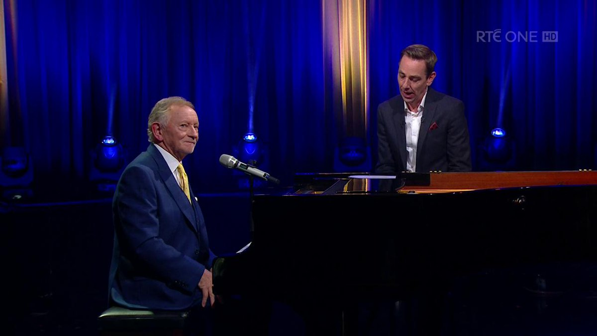 """I thought you know what, my ego is in good enough shape, I don't need this OBE, so I politely declined."" Phil Coulter speaking on why he turned down an OBE from Margaret Thatcher. Never knew this story. What a class act. #LateLate"
