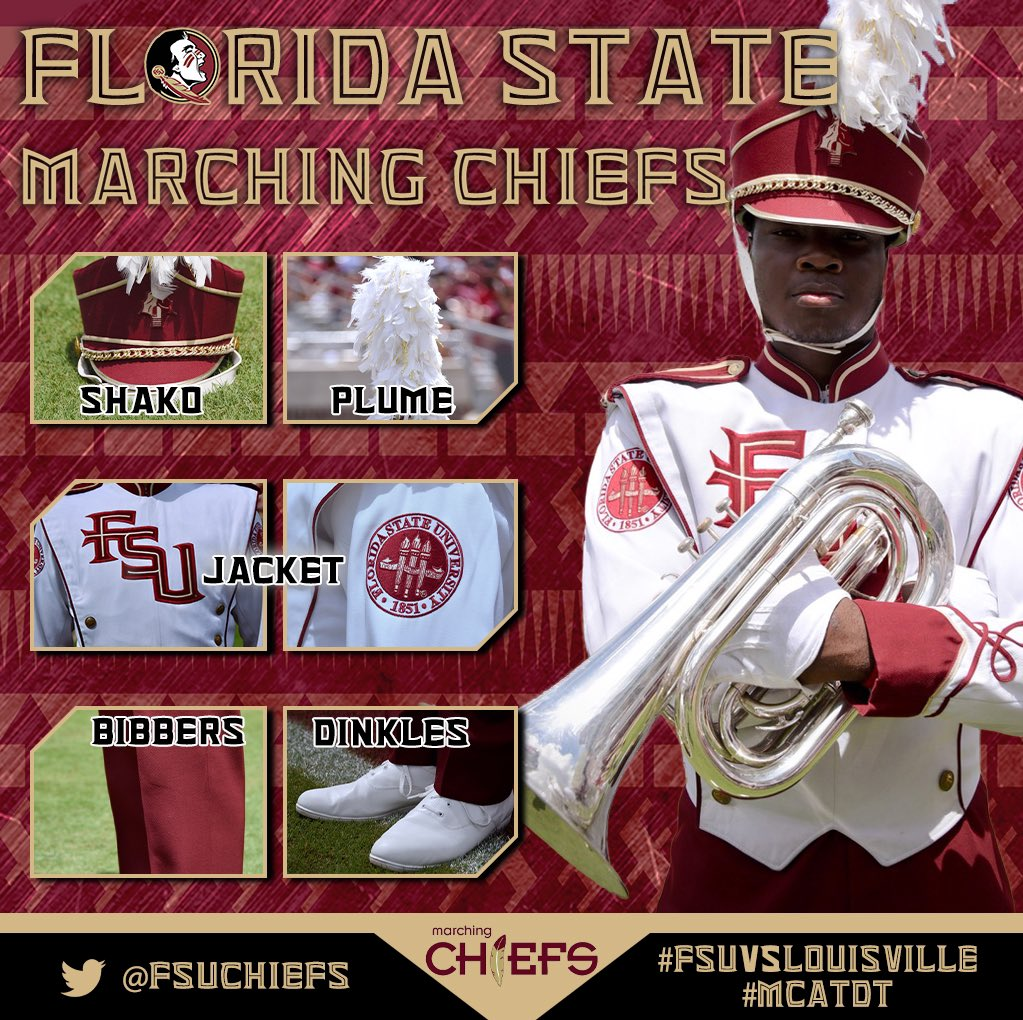Going back to our traditional uniform combination tomorrow. Excited to support @FSUFootball here at home! #beatLouisville #MCATDT #Noles