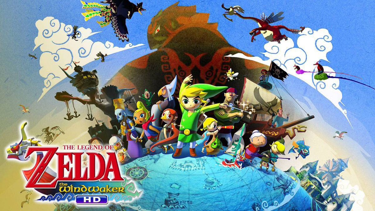 The Legend of Zelda: The Wind Waker HD for Wii U was released on this day digitally, 6 years ago (2013)