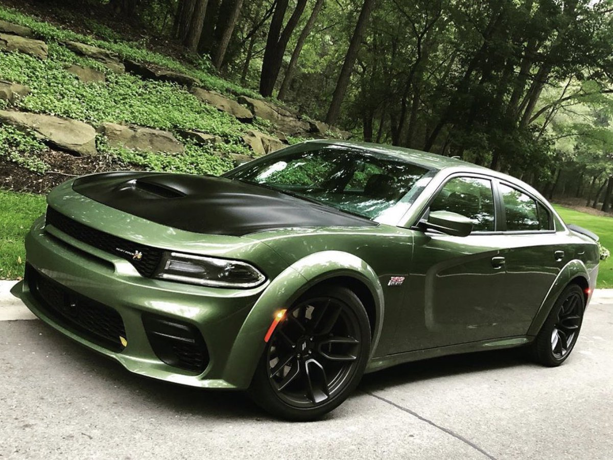 The Hulkish F8 Green 2020 Dodge Charger Scat Pack Widebody