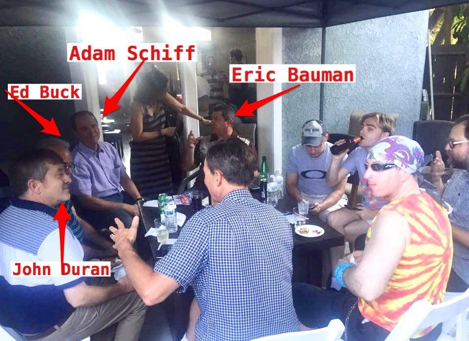 Image result for ed buck adam schiff
