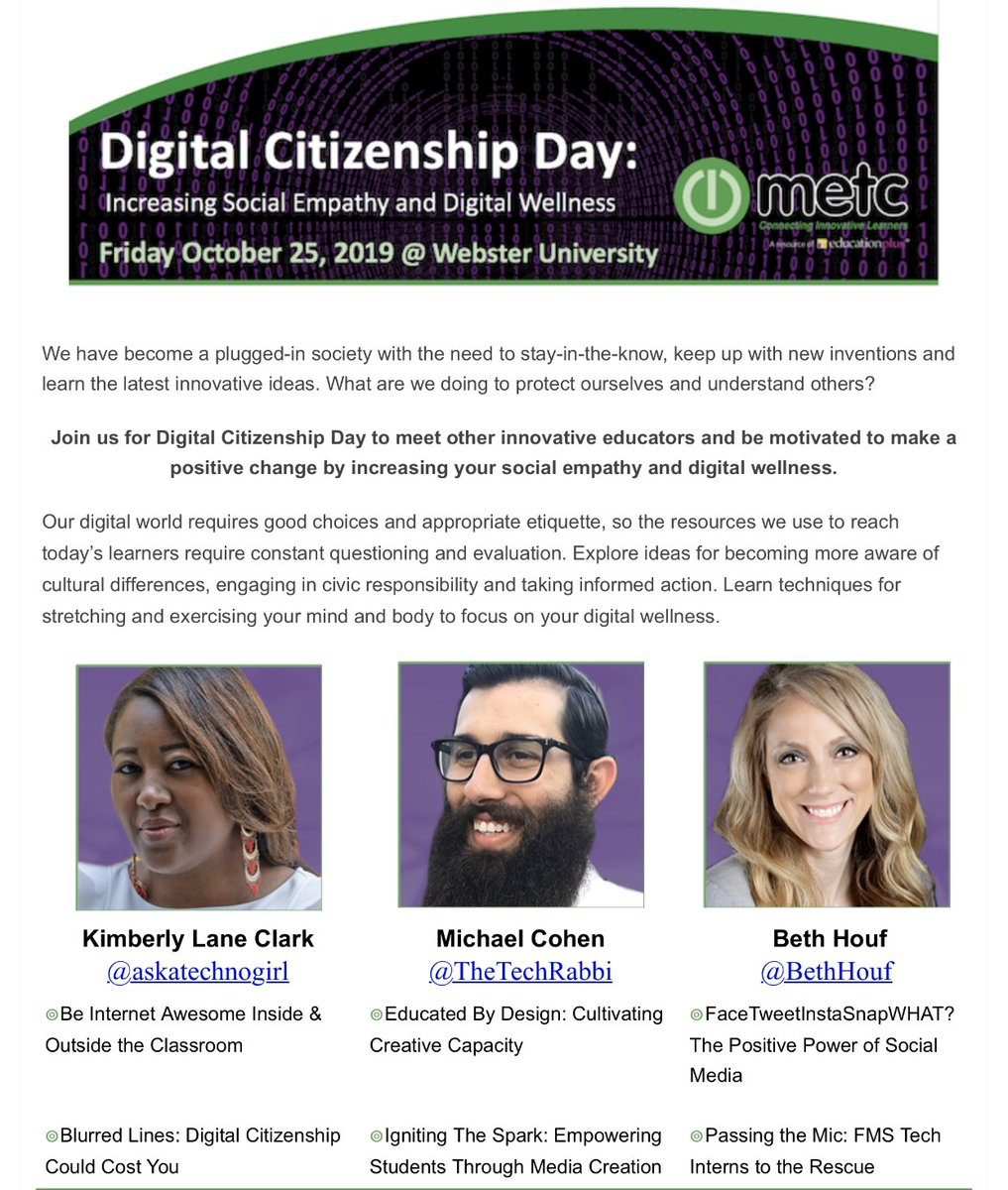 #DigCitDay next month! See you there with @askatechnogirl and @BethHouf! @METCedplus
