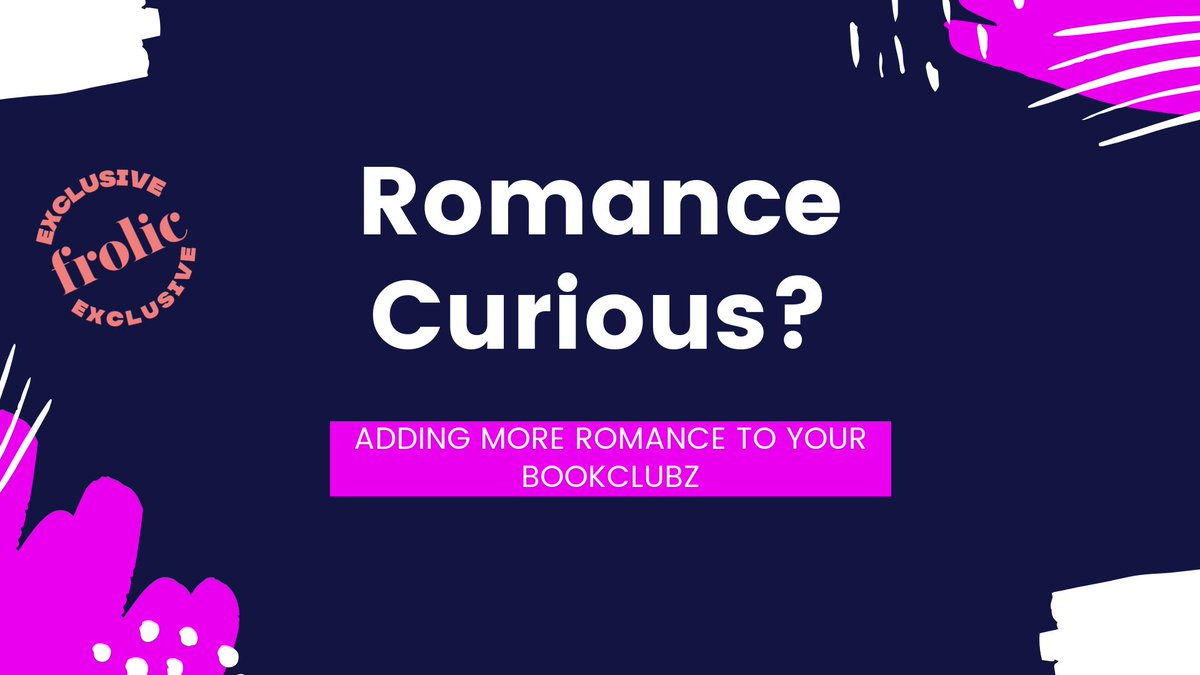 We wrote a thing for our friends over @bookclubz on why book clubs should be adding Romance into their rotation! What book would you add to our list? bookclubz.com/blog/6