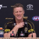 Image for the Tweet beginning: Hear from Damien Hardwick after