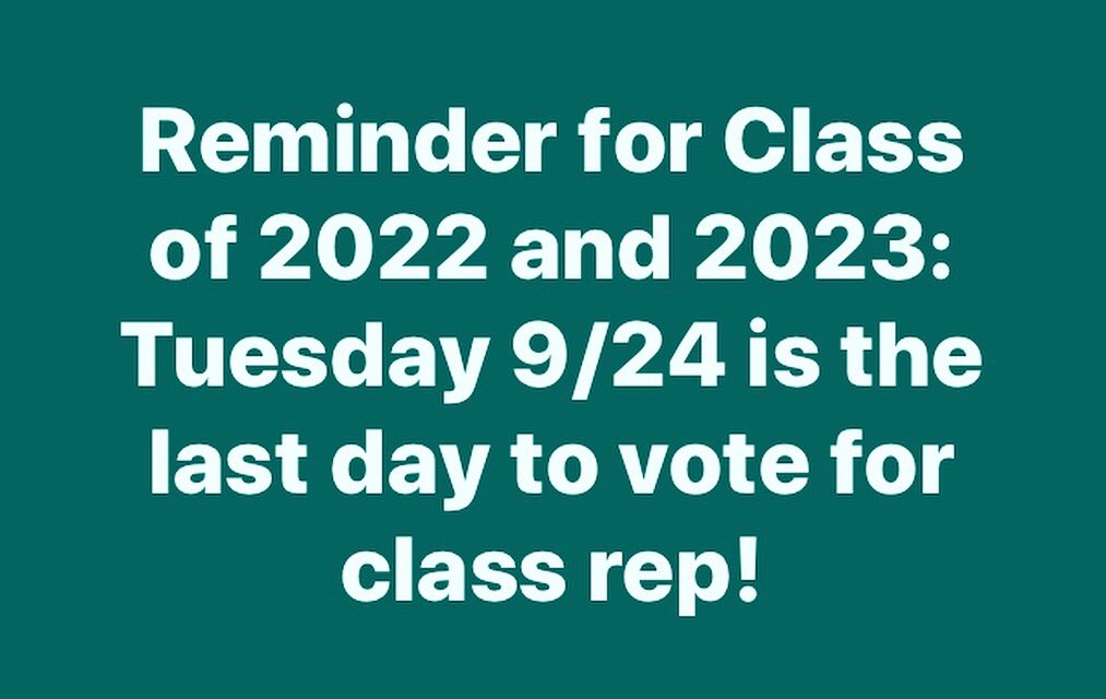Vote through your class course located in Its Learning.🐾🗳