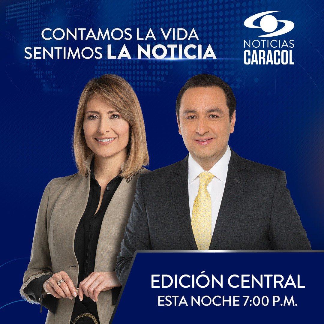 Bienvenidos a las #NoticiasCaracol edición central. Vea los hechos más importantes del día junto a @MaluPeriodista y @JorgeAVargasA a través de nuestra señal EN VIVO y desde cualquier dispositivo >> http://bit.ly/2uQzKwL¡Gracias por preferirnos para informarse!