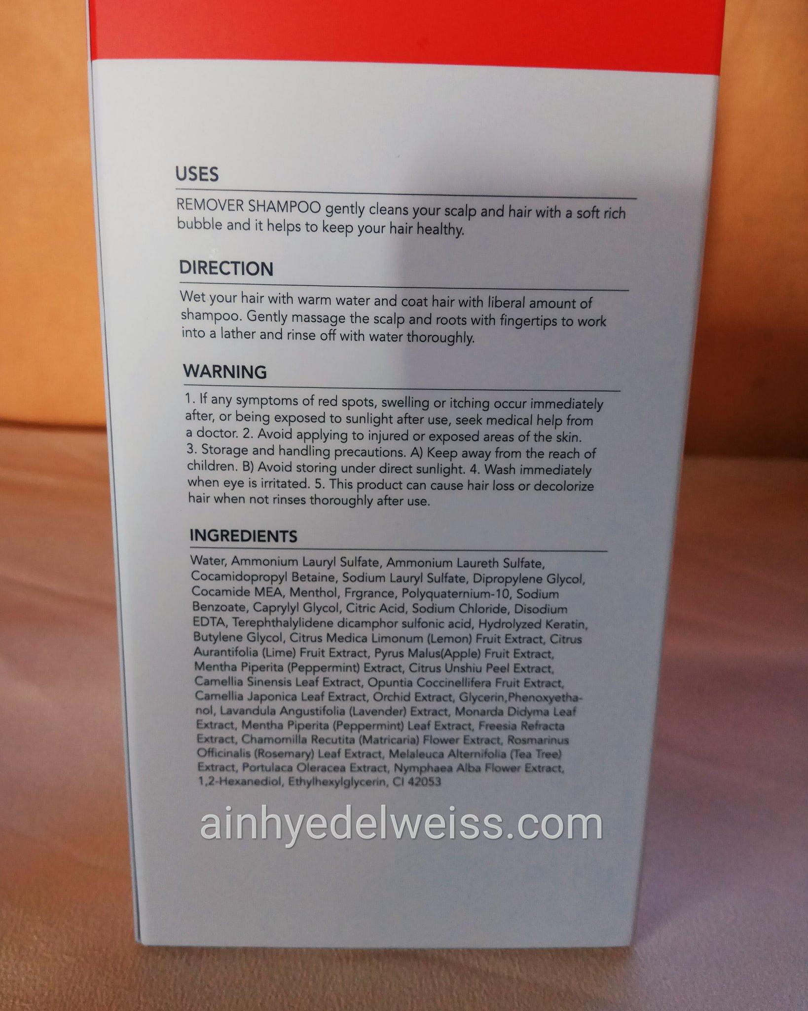 Grafen Remover Shampoo