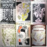 Image for the Tweet beginning: Vanessa Bell's book cover designs