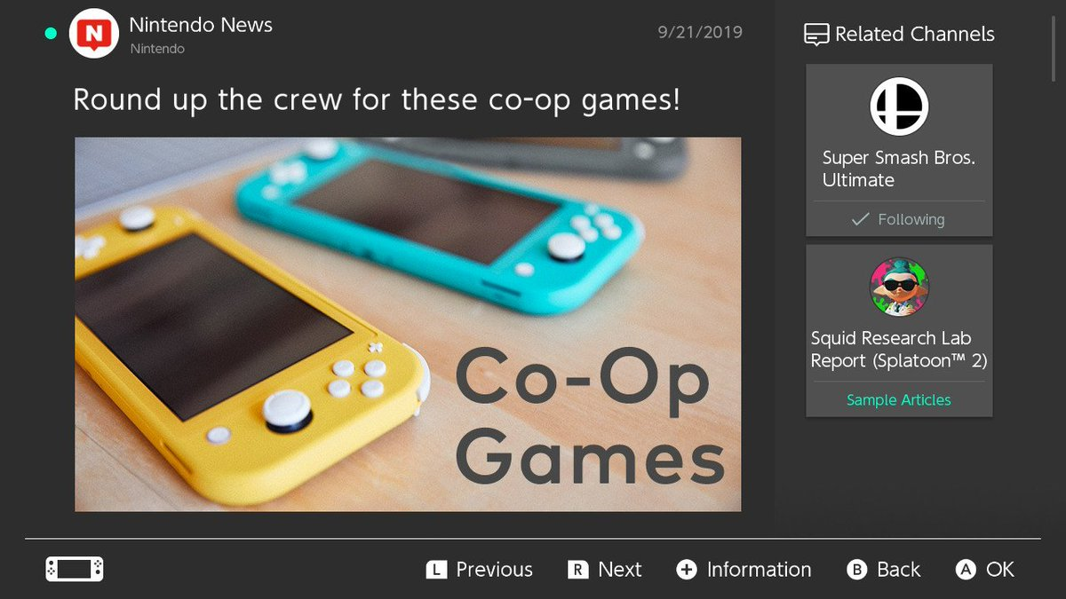 Was a picture of the Switch Lite the best thing to include alongside 'co-op games' #NintendoSwitch<br>http://pic.twitter.com/EbaLHg2vEe