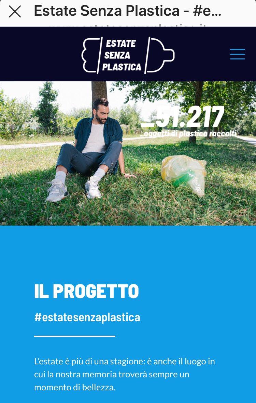 #estatesenzaplastica