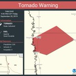 Image for the Tweet beginning: Tornado Warning including Shelly MN